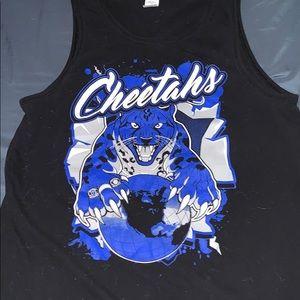 cheer athletics cheetahs tank